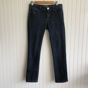 DL 1961 Grace High Rise Cropped Blue Jeans 30